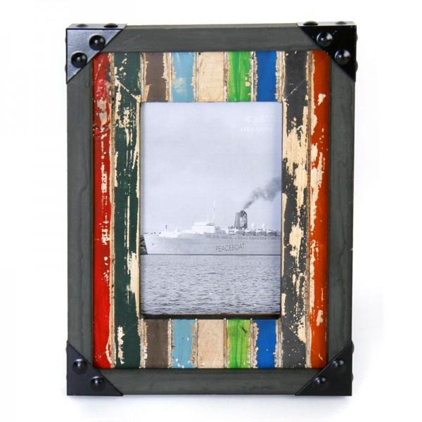 Fotorahmen im Antik-Finish H 24,5 cm