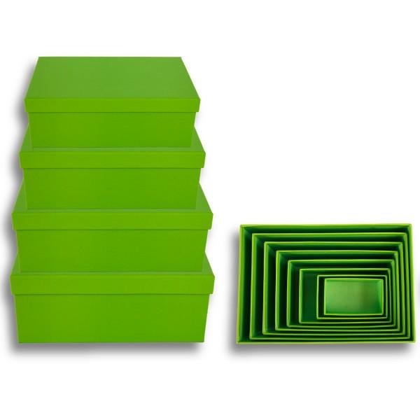 Geschenkkarton 8-tlg. Set, grün