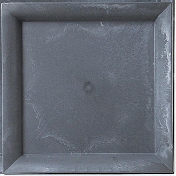 Deko-Teller in Schiefer-Optik 32 x 32 cm